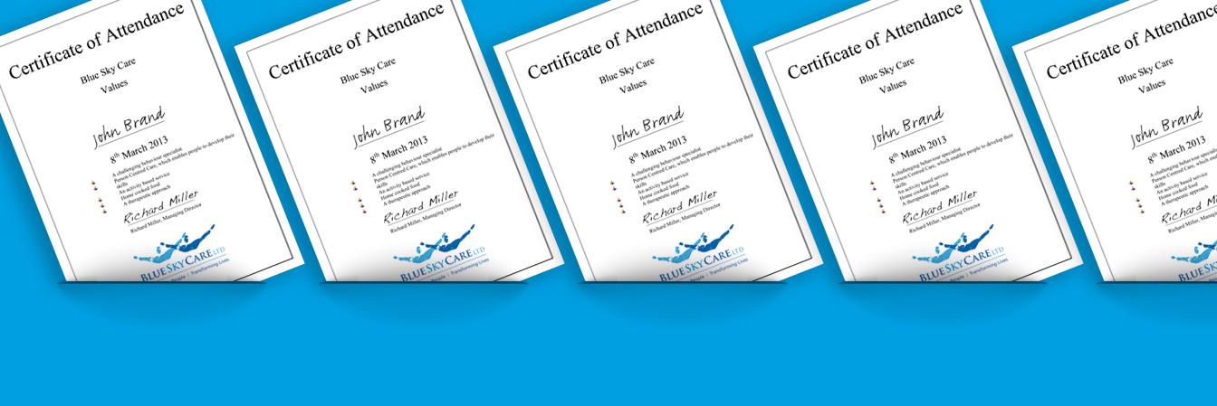 Certificates-Edit